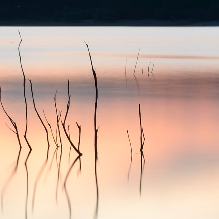 """Serenity......"". Blue night Leggings"