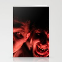 zombies Stationery Cards featuring Zombies! by Justin White