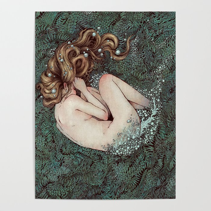 The Birth of Venus Poster by angelarizza