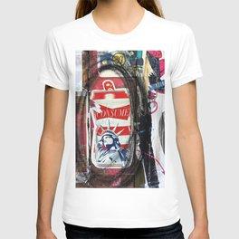 Liberty Consume New York Graffiti T-shirt