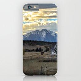 Morning Glory - Mt. Sopris - Glenwood Springs iPhone Case