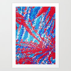 American Fireworks Art Print