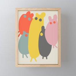 The Gang Framed Mini Art Print