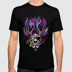 Pirate Demon Warlord MEDIUM Mens Fitted Tee Black