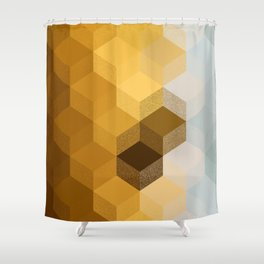 BEEHIVE Shower Curtain