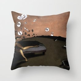 SUNRISE WITH BROKEN PLATES (2004 version) Throw Pillow