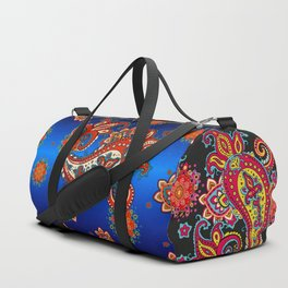 paisley exotique Duffle Bag