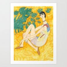 Acne Studio Gal Art Print