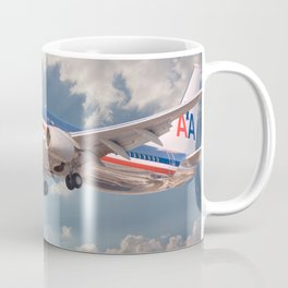 American Airlines Boeing 737 Coffee Mug