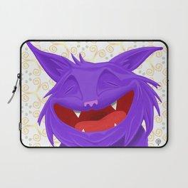 Anselmo the fat violet cat Laptop Sleeve
