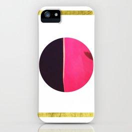 Purple Bounce iPhone Case