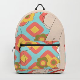 Pin up girl Backpack