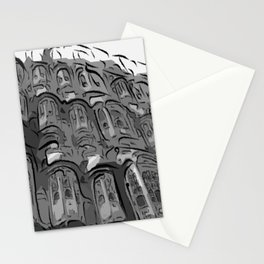 Lonley Planet Faces Stationery Cards