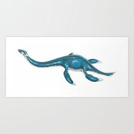 Plesiosaur Art Print