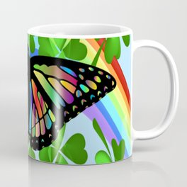 """Butterfly Luck"" Coffee Mug"