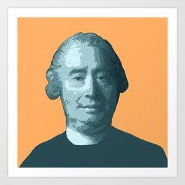 David Hume Art Print