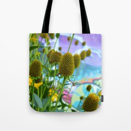 Graphic Weed Tote Bag