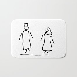 Arabs emirates maghreb Bath Mat