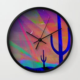Arizona Evening Wall Clock
