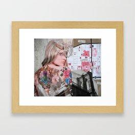 We're Letting You Go Framed Art Print