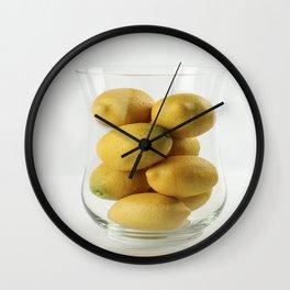 Al que del cielo le caen limones ... Wall Clock