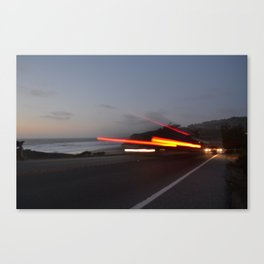 Along the Highway Canvas Print