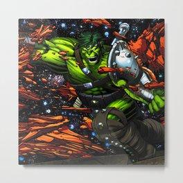 green rampage Metal Print