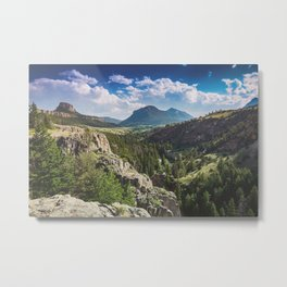 Chief Joseph Scenic Pass Metal Print