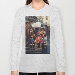 Outdoor Brunch Long Sleeve T-shirt