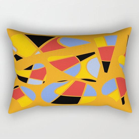 Abstract #91 Rectangular Pillow
