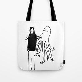 Octopus Hug Tote Bag