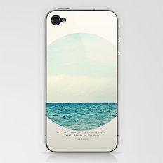 Salt Water Cure iPhone & iPod Skin