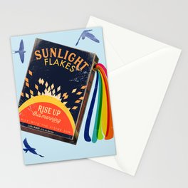 Rise up sunlight  Stationery Cards