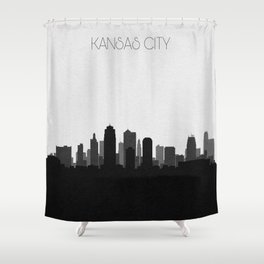City Skylines: Kansas City Shower Curtain