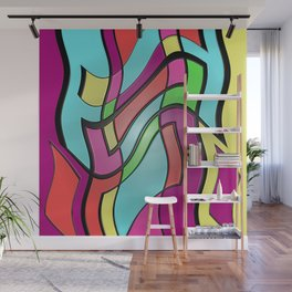 Shake Rattle and Roll Wall Mural