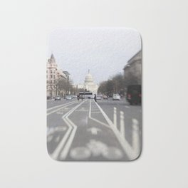 In the Streets of DC Bath Mat