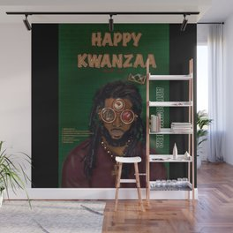 KWANZAA Gifts and Cards for a King Wall Mural
