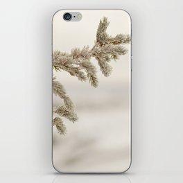 Icy Tamarack iPhone Skin