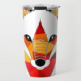 Fire Fox Travel Mug