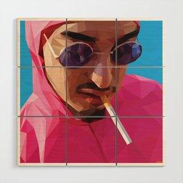 Pink Guy Wood Wall Art
