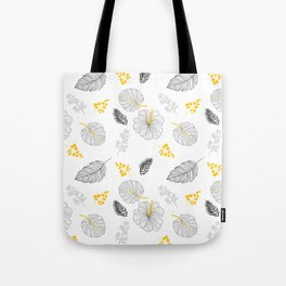 Leaves Pattern Tote Bag