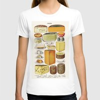cheese T-shirts featuring CHEESE by Kathead Tarot/David Rivera
