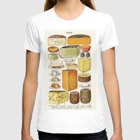 cheese T-shirts featuring CHEESE by Kathead Tarot/David Rivera