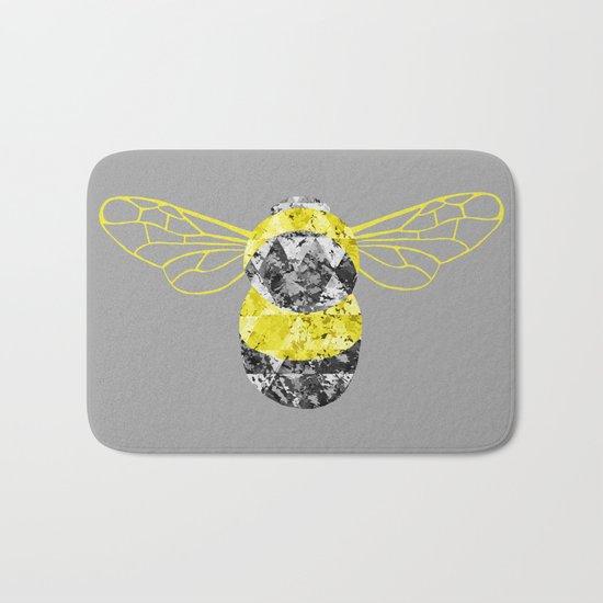 Patchwork Busy Bee Bath Mat