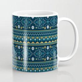 Native Aboriginal Tribal Pattern V.8 Coffee Mug
