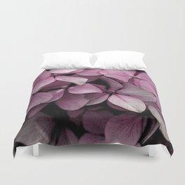 Pink Hydrangeas Duvet Cover