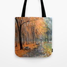 Autumn in the park # 2 Tote Bag