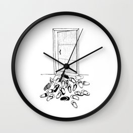 Island Life Series: House Party Wall Clock