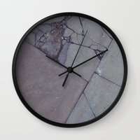rocky Wall Clocks featuring rocky by Amanda Stockwell