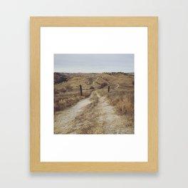 """The Beauty of Nothingness"" Framed Art Print"